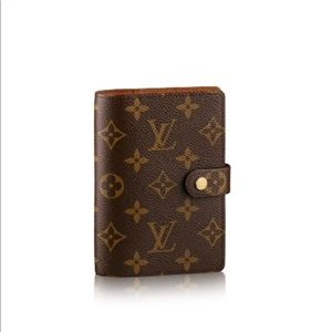 NWT Louis Vuitton SMALL RING AGENDA COVER